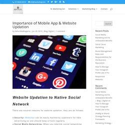 Improving Website & Apps to Social Sites