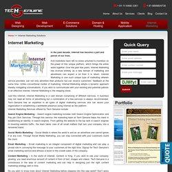 Credible Internet Marketing Solutions from Tech Genuine