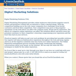 Digital Marketing Solutions North Jersey business