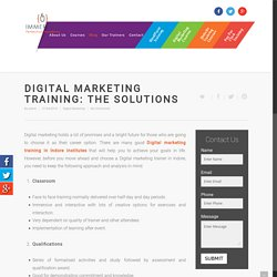 Best Digital Marketing Training Institute