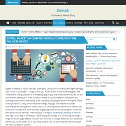Digital Marketing Company in India Is Spreading the Online Business - Zemsib