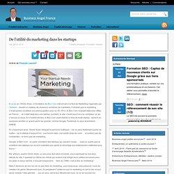 De l'utilité du marketing dans les startups
