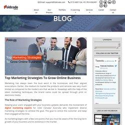 Top Marketing Strategies To Grow Online Business