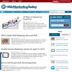 Web Marketing Today -- E-Commerce, E-Mail Marketing, Internet Marketing - Wilson Internet - Copy
