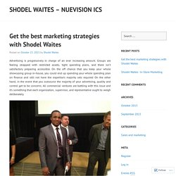 Get the best marketing strategies with Shodel Waites