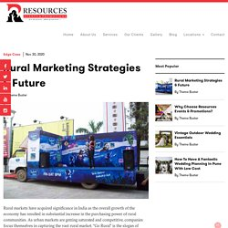 Rural Marketing Strategies and Services