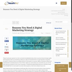 Know About Digital Marketing Strategy