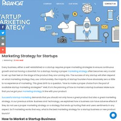 Marketing Strategy for Startups