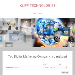 Top Digital Marketing Company In Janakpuri - KLIFF TECHNOLOGIES