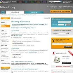 Marketing téléphonique : infos et avantages du marketing téléphonique