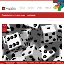 Teoría de juegos, juegos serios y gamificación