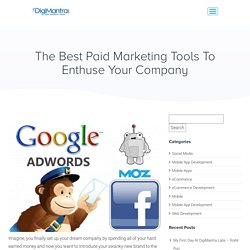 Best Paid Marketing Tools For 2020