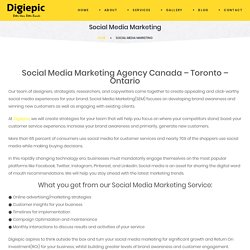 Social Media Marketing Agency Canada