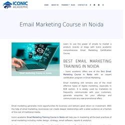 Email Marketing Training in Noida