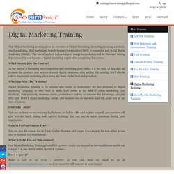 Digital Marketing Training in Bhopal, Join Best Institute