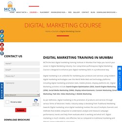 Digital Marketing Training Institute In Mumbai