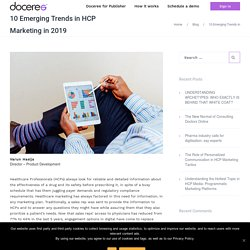 Top HCP Marketing Trends in 2019 - Doceree
