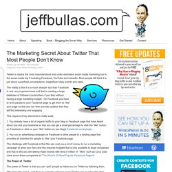www.jeffbullas.com/2011/04/11/the-marketing-secret-about-twitter-that-most-people-dont-know/