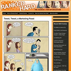 Ranked Hard - Funny SEO Comic Strips - SEO Comics & SEO Humor