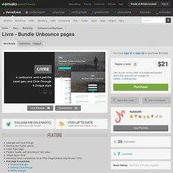 Marketing - Livre - Bundle Unbounce pages