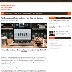 The Best Advanced Online Marketing Plans Grow your Business