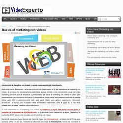 Que es el marketing con videos | Video Experto