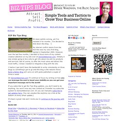 Internet Marketing Tips from Denise Wakeman