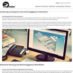Marketingagentur Rheinfelden - Werbeagentur für Gestaltung