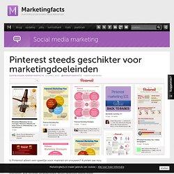 Pinterest steeds geschikter voor marketingdoeleinden