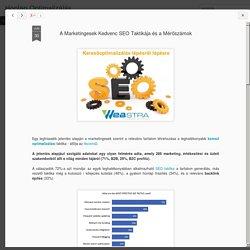 A Marketingesek Kedvenc SEO Taktikája és a Mérőszámok