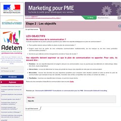 MarketingpourPME Plan de communication