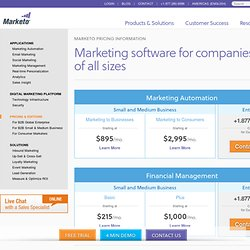 Pricing Information: Social Marketing Software