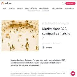 Marketplace B2B, comment ça marche ?