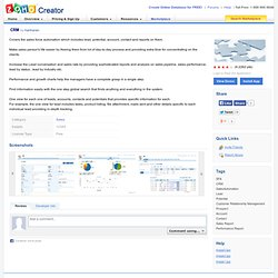 Creator - Online Database Application