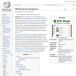 Silk Road (anonymous marketplace)