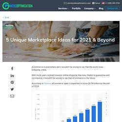 Online Marketplace Ideas for Aspiring Entrepreneurs, Startups for 2020