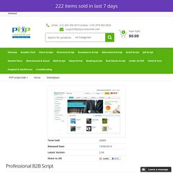 B2B Marketplace Classifieds Trading Script, B2B Multi-vendor Marketplace scripts, Tradeindia, globalsources, dhgate, diytrade Clone script