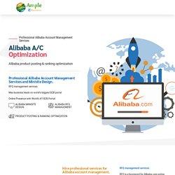 Alibaba Account Management Services –World's #1 B2B Marketplace MinisiteDesigning Company