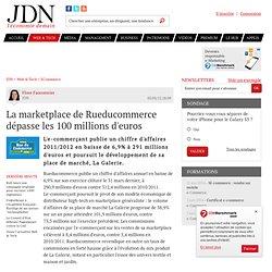 La marketplace de Rueducommerce dépasse les 100millions d'euros