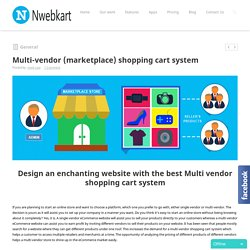 Multi-vendor (marketplace) shopping cart system