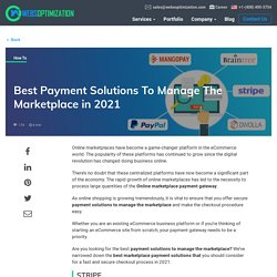 Best marketplace payment solutions