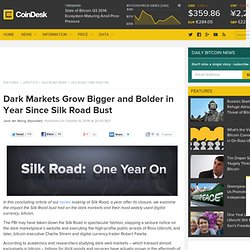 Dark Markets Grow Bigger and Bolder in Year Since Silk Road Bust