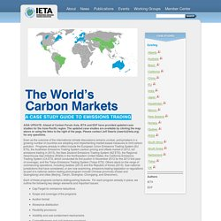 The Worlds Carbon Markets