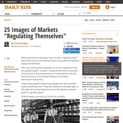 "25 Images of Markets ""Regulating Themselves"""