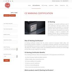 CE Marking Certification – IAS Latin America