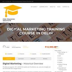 Learn Digital Marketing Training in Delhi