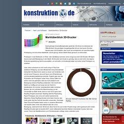 'Transparenzspindel' Marktüberblick 3D-Drucker