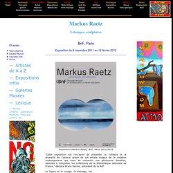 Markus Raetz BnF - Exposition Markus Raetz Paris - Expo Raetz bnf
