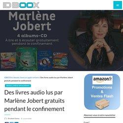 Des livres audio lus par Marlène Jobert gratuits pendant le confinement