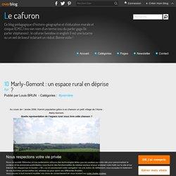 Marly-Gomont : un espace rural en déprise ?